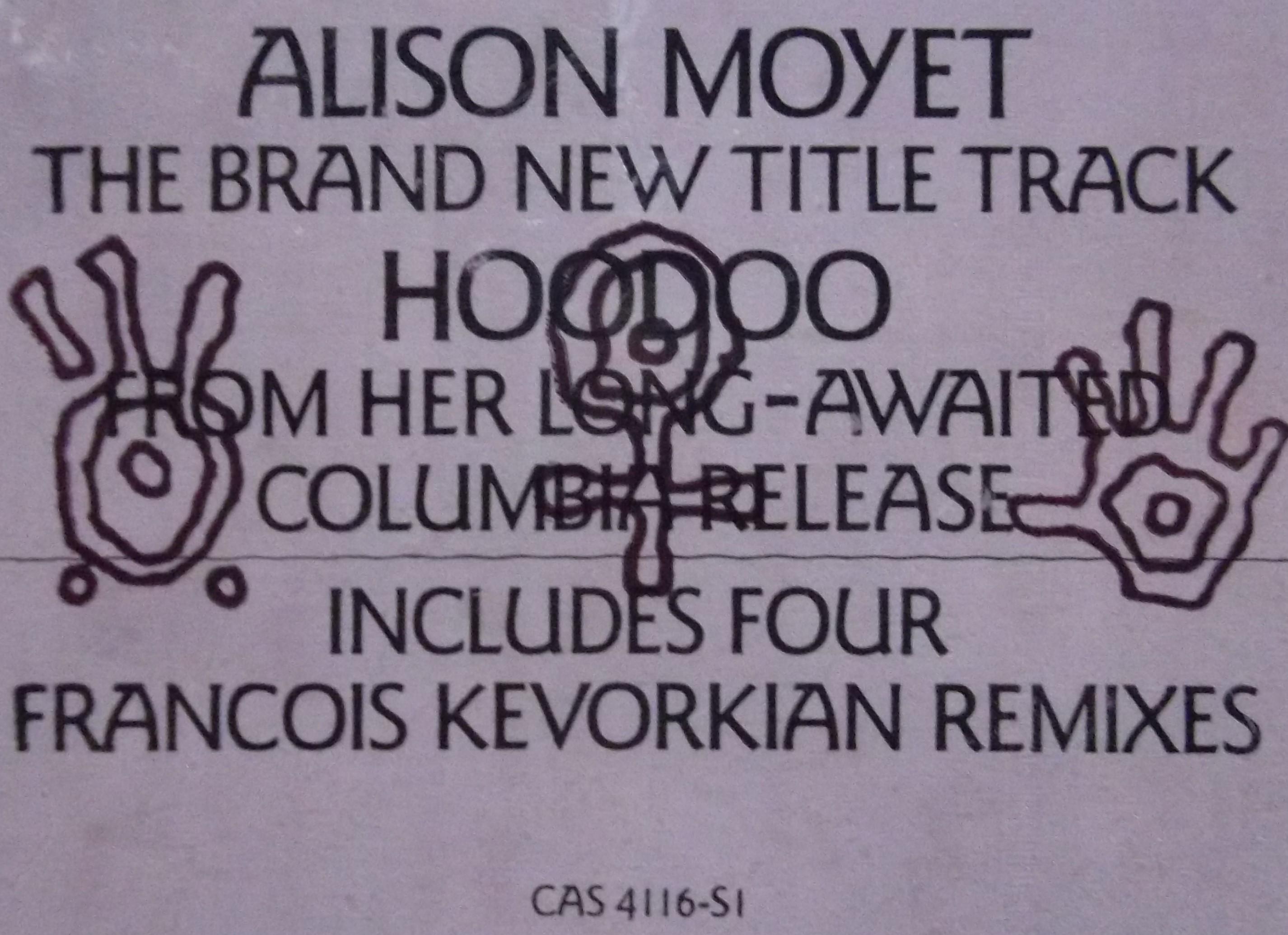 Alison Moyet Hoodoo
