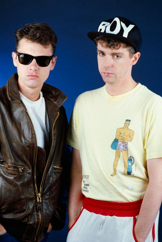 Chris Lowe and Neil Tennant of Pet Shop Boys
